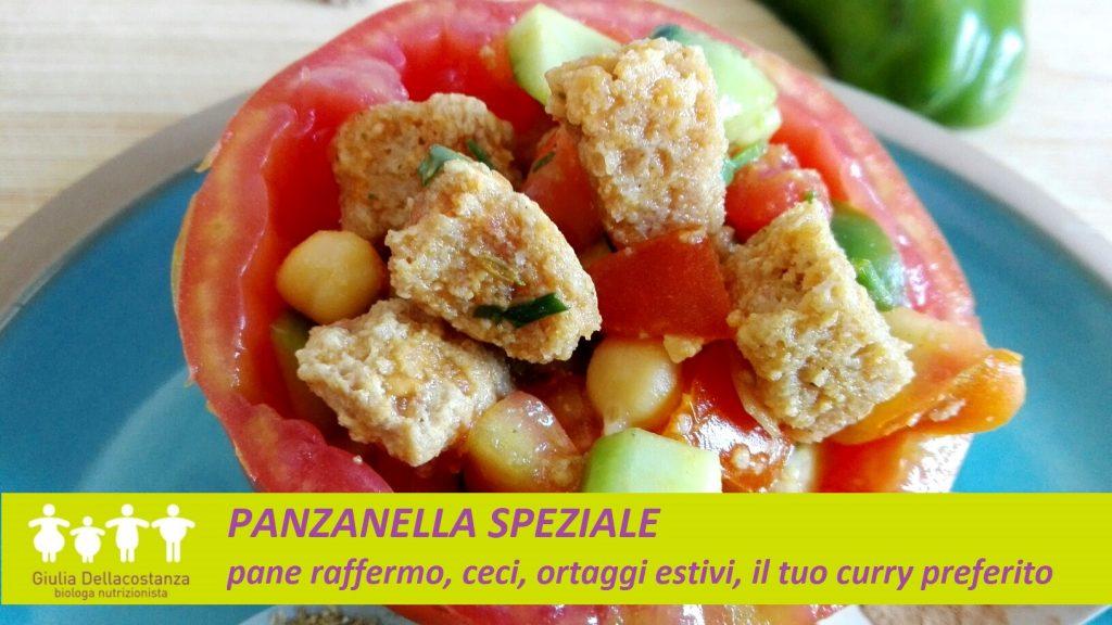 Panzanella speziale - Ricette per l'estate.