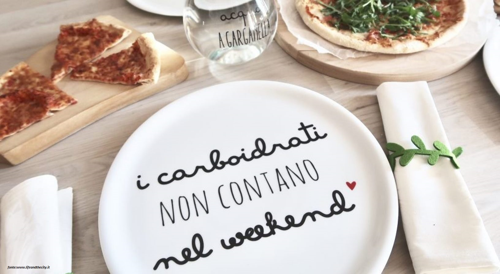 i carboidrati nel weekend