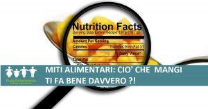 miti alimentari