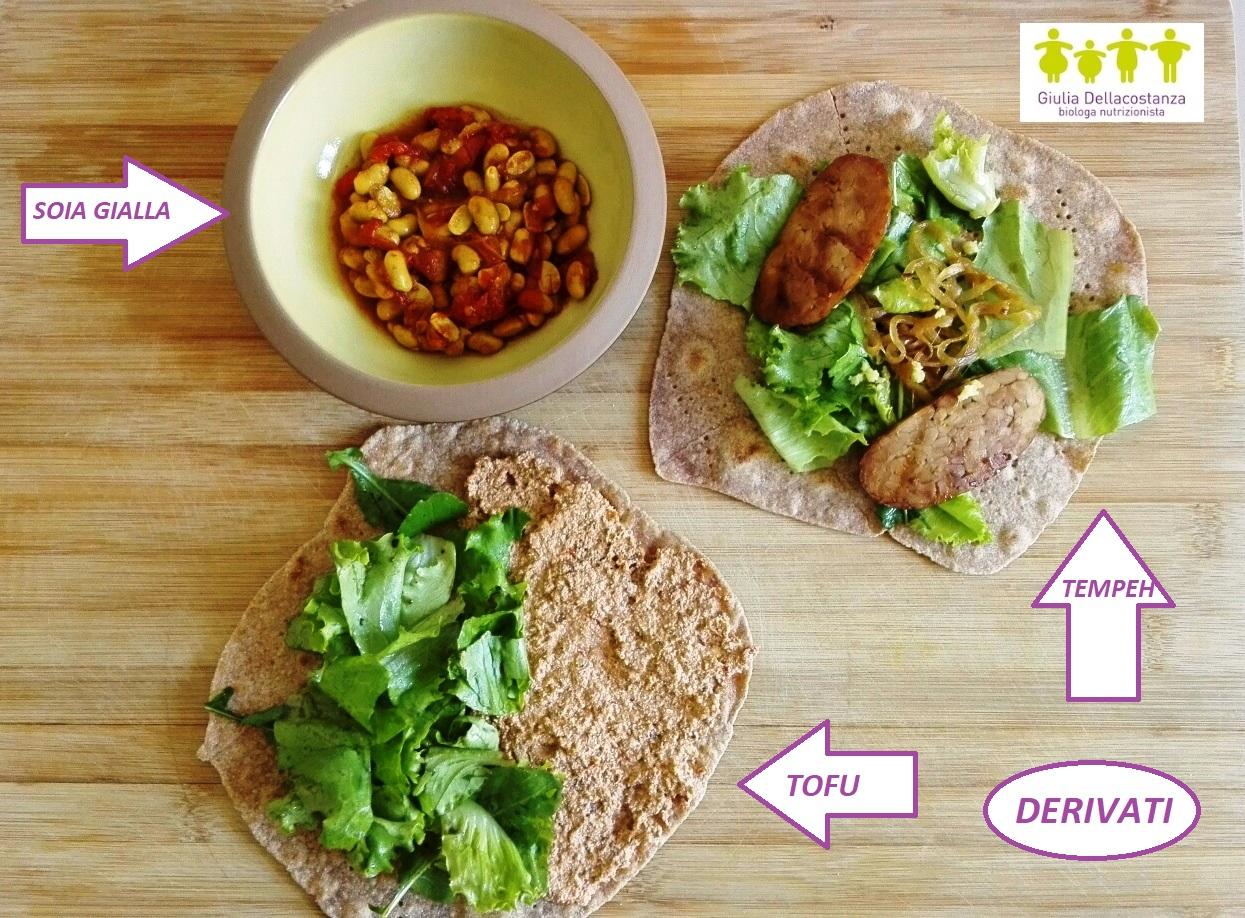 soia e derivati: tofu e tempeh