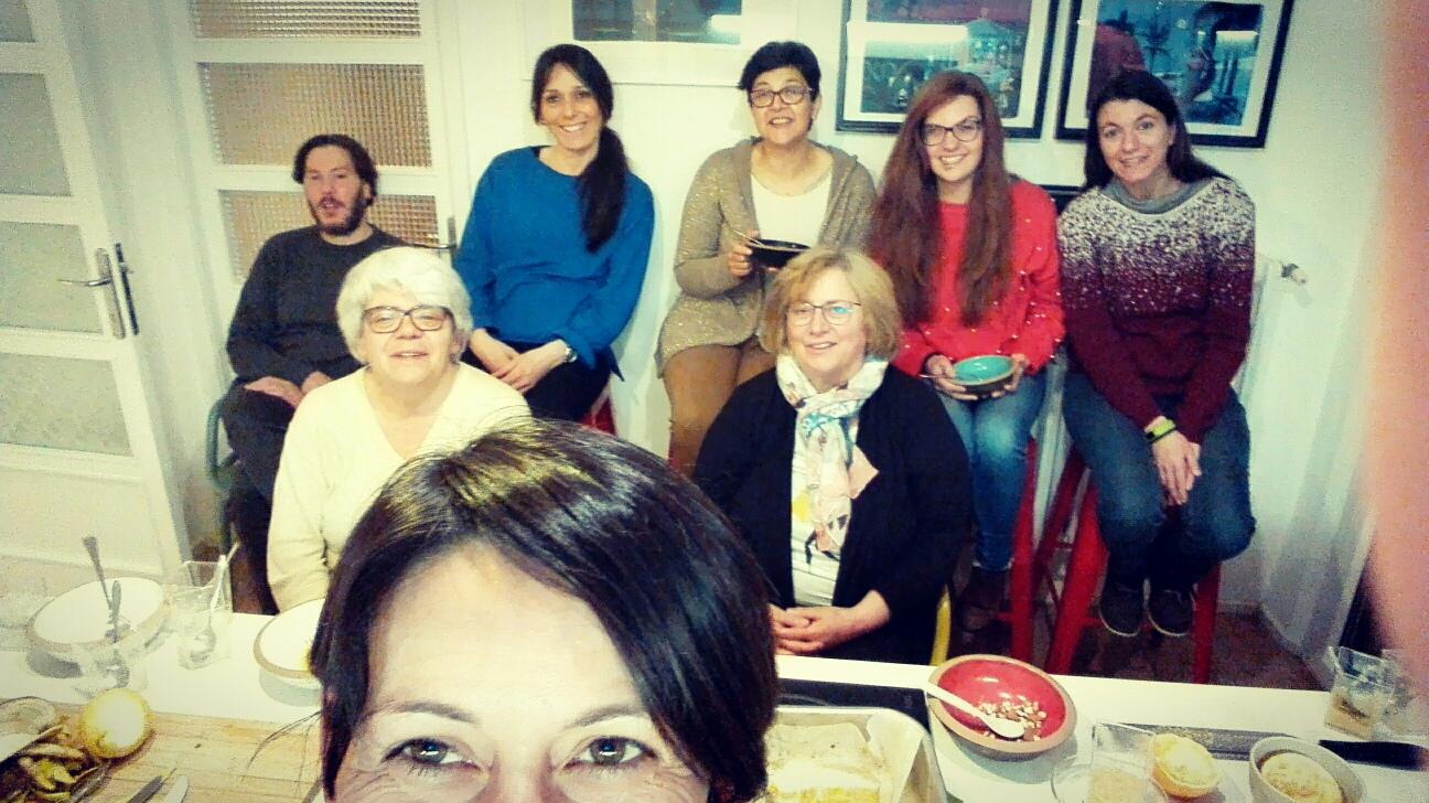 Partecipanti all'ottavo laboratorio di Ti Cucino La Dieta.