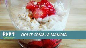Festa della mamma - dolce alle fragole