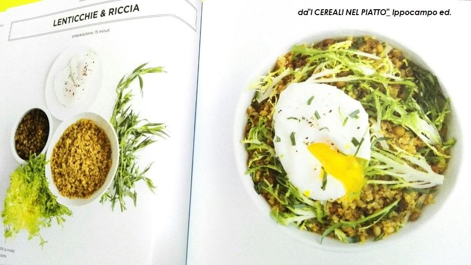 piatto unico a base di cereali integrali
