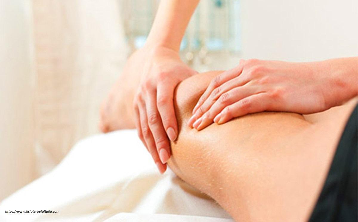 massaggio linfodrenante per cellulite
