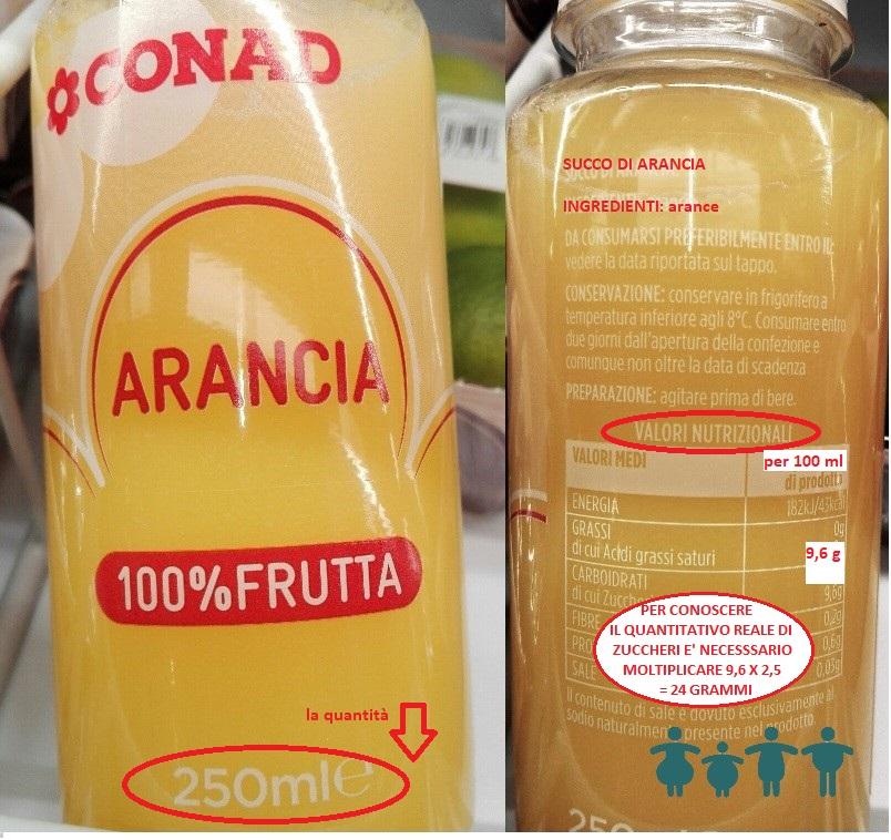 succhi 100% frutta