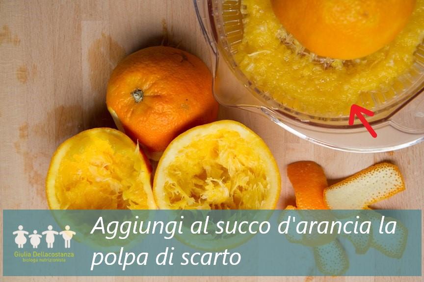 come fare una spremuta d'arancia